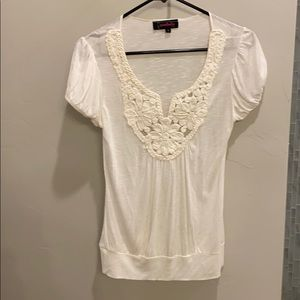 Annabelle Tops - Size small off white blouse